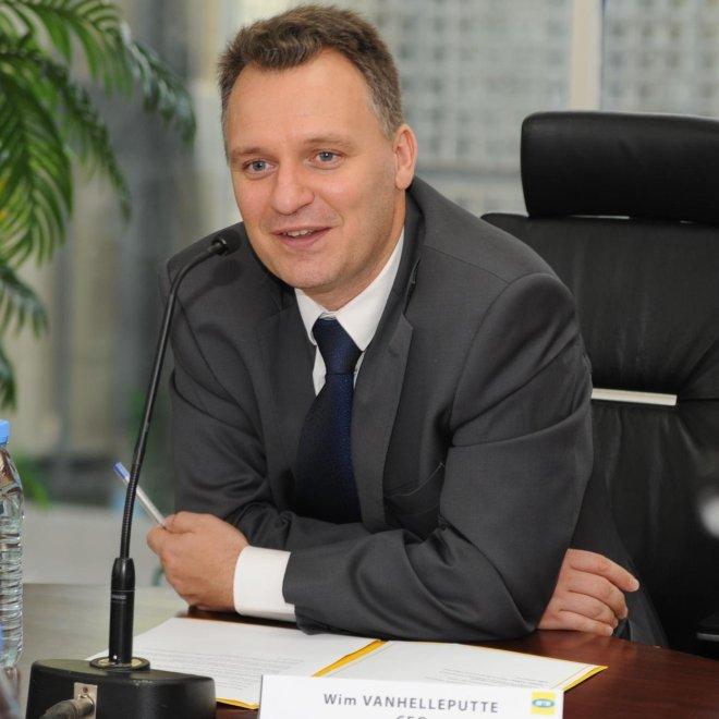 L'ancien Directeur Général de MTN Côte d'ivoire, Wim Vanhelleputte
