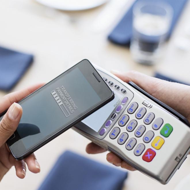 Quelques terminaux de paiement électronique