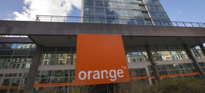 orange siège